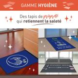 gamme de tapis hygiène
